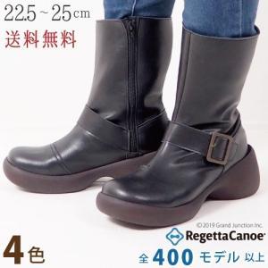 リゲッタ カヌー ブーツ レディース ミドル サイドジップ エンジニアブーツ boots|gjweb