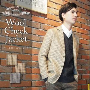 テーラードジャケット メンズ 千鳥格子 日本製|gjweb