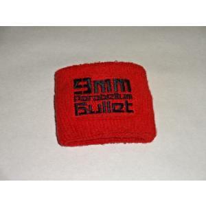 9mm Parabellum Bullet リストバンド 赤 【9mm Parabellum Bullet買取ますhfitz.com】|gkaitori