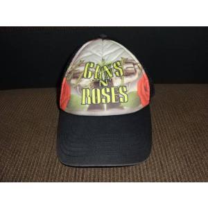 ガンズ&ローゼズ メッシュキャップ 帽子│ガンズグッズ買取りますhfitz.com|gkaitori