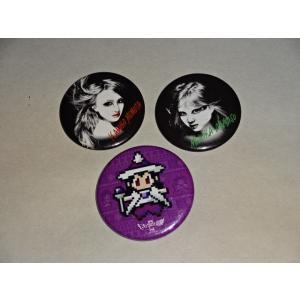 ももクロ 缶バッジ 3個セット 【ももいろクローバーZ買取りますhfitz.com】 gkaitori