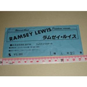 ラムゼイ・ルイス チケット 半券 大阪公演 RAMSEY LEWIS|gkaitori