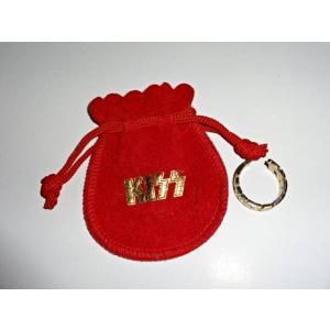 ★レア KISS 巾着付き ゴールド ロゴ リング 指輪【グッズ買取専門店hfitz.com】|gkaitori
