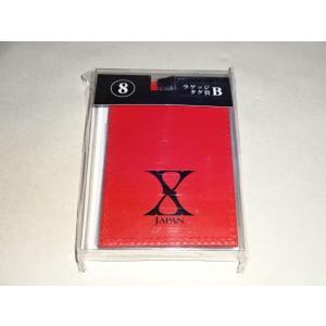 X JAPAN くじ ラゲッジタグ赤 │コンサートグッズ買取ますグッズhfitz.com|gkaitori