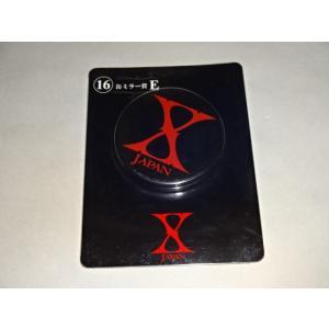 X JAPAN くじ 缶ミラー賞 E │コンサートグッズ買取ますグッズhfitz.com|gkaitori