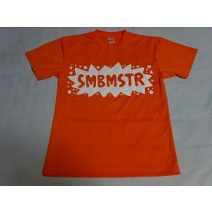 サンボマスター Tシャツ Mサイズ オレンジ メッシュ素材|gkaitori