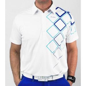 スライゴ Sligo ポロシャツ OBRIEN ホワイト|gkgolf