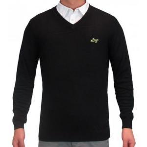 スライゴ Sligo アウター Kern N-NECK セーター ブラック|gkgolf