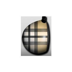 Plaid Tan and Black|gkgolf