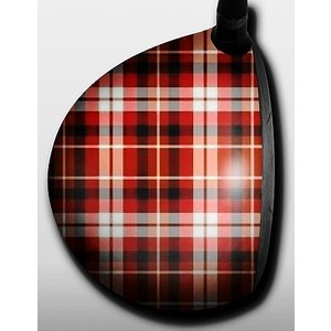 Plaid Red and Blue|gkgolf