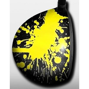 Splattered Yellow|gkgolf