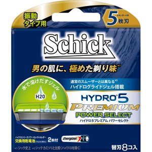 シック・ジャパン シック ハイドロ5 プレミアム パワーセレクト 替刃 替刃8コ入