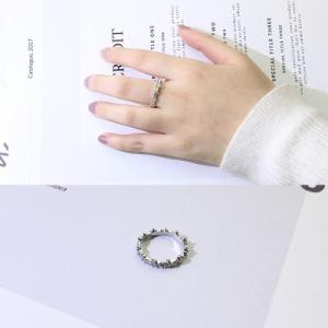 リング レディース 指輪 シンプル ジルコニアダイヤ アクセ...