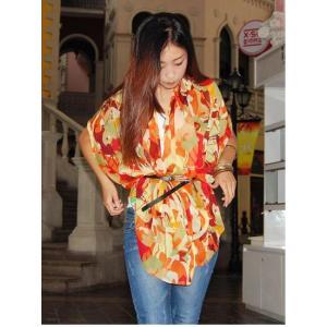 ストール レディース ヨーロッパスタイル 花柄 ネオンカラー レディース スカーフ ストール glamorous-jewel 03