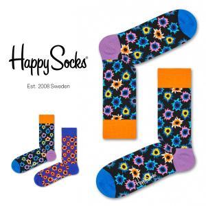Happy Socks ハッピーソックス BANG ( バング ) クルー丈 綿混 ソックス 靴下 ユニセックス メンズ&レディス 1A113002 glanage