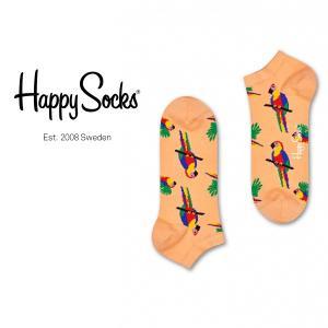 Happy Socks ハッピーソックス PARROT ( パロット ) スニーカー丈 パフォーマンス 綿混 ソックス 靴下ユニセックス メンズ&レディス 1A123007|glanage