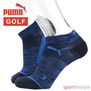 PUMA プーマ メンズ 靴下 ゴルフ用 ソックス 抗菌防臭・吸水速乾・高機能靴下 アーチサポート アンクル丈 ソックス ポイント10倍|glanage