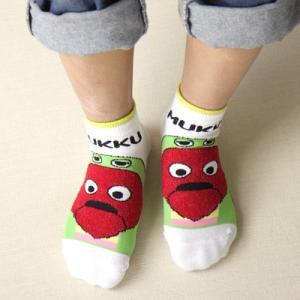 ガチャピン × ムック 子供 キッズ ソックス 靴下 ムックパーカーソックス 4167-064 ポイント10倍|glanage
