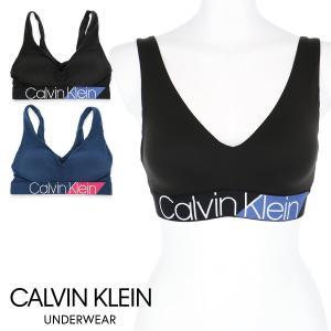 Calvin Klein Women's Underawear CHEVRON MICRO ライトリーラインドブラレット ブラジャー スポーツブラ 女性 下着 日本サイズ(S・M・L)QF4936 ポイント10倍|glanage