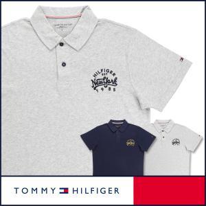 TOMMY HILFIGER トミーヒルフィガー 半袖 アイコン コットン ポロシャツ 綿100% メンズ ポイント10倍