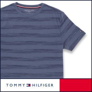 TOMMY HILFIGER トミーヒルフィガー Tシャツ 半袖 綿 100% ボーダー メンズ ポイント10倍