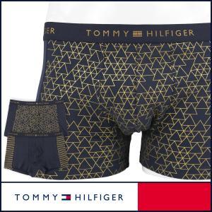 TOMMY HILFIGER トミーヒルフィガー ボクサーパンツ TRUNK CAMO カモフラージュプリント コットン ポイント10倍|glanage
