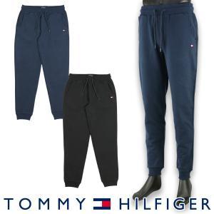 TOMMY HILFIGER トミーヒルフィガー FLAG CORE FLEECE CN TRACK PANT フラッグ コア 裏地フリース トラックパンツ メンズ ポイント10倍 メール便不可|glanage