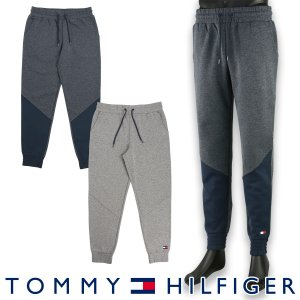 TOMMY HILFIGER トミーヒルフィガー FLAG TECH HOODY LS フラッグ テック コットン スウェット パンツ メンズ ポイント10倍 メール便不可|glanage