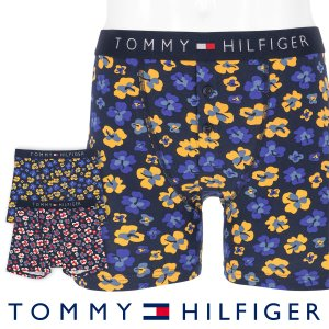 TOMMY HILFIGER トミーヒルフィガー ボクサーパンツ JAPAN LIMITED 日本限定 COTTON ICON BUTTON FLY BOXER BRIEF FLORAL PRINT ポイント10倍|glanage