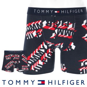 TOMMY HILFIGER トミーヒルフィガー ボクサーパンツ JAPAN LIMITED 日本限定 COTTON ICON BUTTON FLY BOXER BRIEF 3D LOGO ポイント10倍|glanage