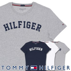 TOMMY HILFIGER|トミーヒルフィガー Tシャツ クルーネック ロゴ 半袖 オーガニックコットン 100% メンズ ポイント10倍|glanage