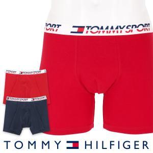 TOMMY HILFIGER トミーヒルフィガー ボクサーパンツ 2枚組 TOMMY SPORT COTTON 2P BOXER BRIEF CORE スポーツ コットン ボクサーパンツ ポイント10倍|glanage