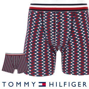 TOMMY HILFIGER トミーヒルフィガー ボクサーパンツ MODERN STRIPE COTTON BUTTONFLY BOXER BRIEF TH FLAG モダンストライプ コットン HT フラグ ポイント10倍|glanage
