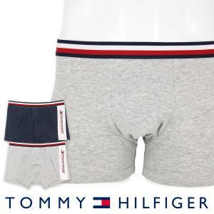 TOMMY HILFIGER トミーヒルフィガー ボクサーパンツ 2枚組 TOMMY SPORT COTTON 2P TRUNK FASHION トミー スポーツ コットン ポイント10倍|glanage