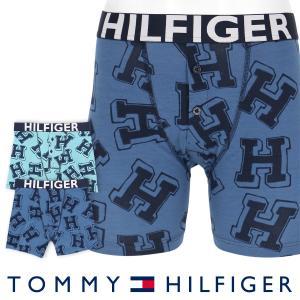 TOMMY HILFIGER トミーヒルフィガー ボクサーパンツ ヒルフィガー コットン ボタンフライ ボクサー ブリーフ ロゴ ボクサーパンツ ポイント10倍|glanage