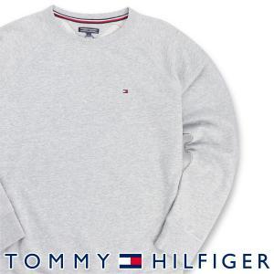 TOMMY HILFIGER トミーヒルフィガー ICON HWK TRACK TOP LS ワンポイント ロゴ クルーネック 長袖 スウェット トレーナー メンズ ポイント10倍 メール便不可|glanage