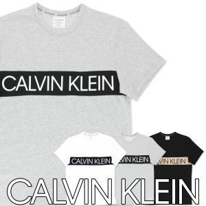 Calvin Klein Statement Graphic Lounge カルバンクライン・ステートメントグラフィック ラウンジ クルーネック Tシャツ NM1656 ポイント10倍 メール便不可|glanage