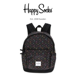Happy Socks ハッピーソックス 80's ( エイティーズ ) デイパック リュックサック ユニセックス メンズ & レディス h608001|glanage