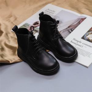 商品の説明   ブーツ キッズ マーチンブーツ ショートブーツ ショート 靴 キッズシューズ ジュニ...
