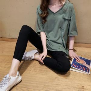 カットソー 半袖 韓国 ファッション おしゃれ 丸首 Tシャツ レディース トップス 半袖 春 夏 秋 レディス ティーシャツ オシャレ 20代 30代 40代|glanz-shop