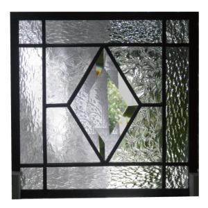 ステンドグラスパネル デザインガラス インテリア 建具 窓 オーダーメイド NO15|glass-artk
