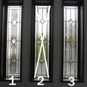 ステンドグラスパネル デザインガラス インテリア 建具 窓 オーダーメイド NO11|glass-artk