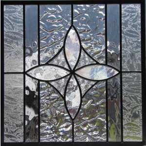 ステンドグラスパネル デザインガラス インテリア 建具 窓にオーダーメイド NO3|glass-artk