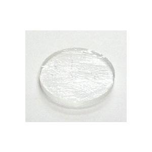 モレッティ 透明板ガラス 円形 Φ27mm