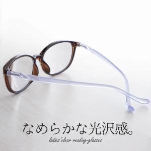 老眼鏡 女性用 おしゃれ レディース ボストン ピンク ラベンダー リボン かわいい ワイン ブラウン FEEL LIFE FLL-002|glass-garden