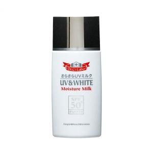 ドクターシーラボ UV&WHITE モイスチャーミルク SPF50+ PA++++ 60ml   (日焼け止め)|glass-oner