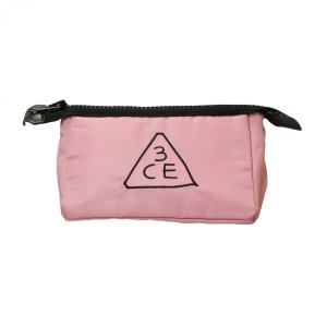 スリーコンセプトアイズ 3CE ポーチ (S) #ライトピンク (化粧ポーチ)|glass-oner