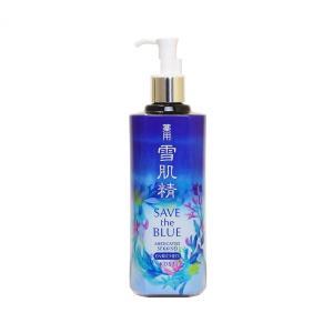 コーセー 薬用雪肌精 化粧水 エンリッチ 2018年 SAVE THE BLUE 限定 500ml  (化粧水) glass-oner