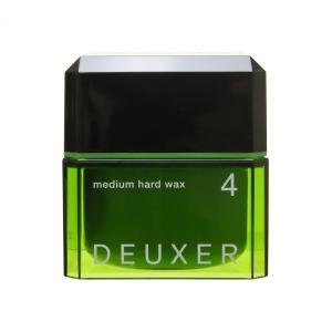 ナンバースリー NUMBER THREE デューサー ミディアムハードワックス (4) 80g (レディースヘアスタイリング)|glass-oner