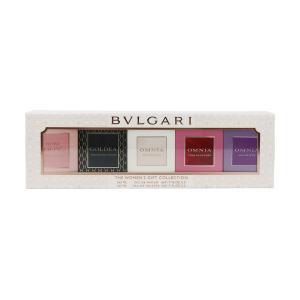 ブルガリ ザ ウーマンズ ギフト コレクション N ミニチュアセット 5ml × 5 (香水セット)|glass-oner
